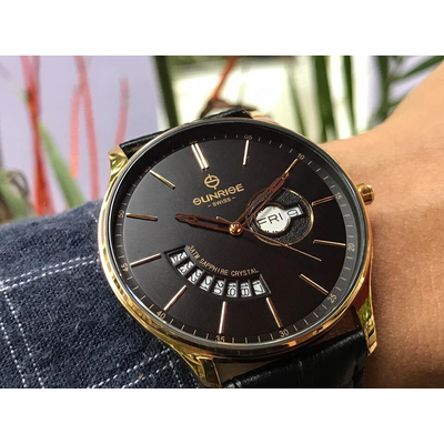 Đồng hồ nam Sunrise 1127pa - kd chính hãng