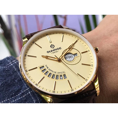 Đồng hồ nam Sunrise 1127pa - kv chính hãng