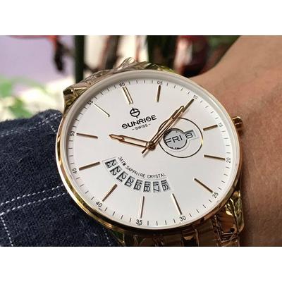 Đồng hồ nam Sunrise 1127sa - kt chính hãng