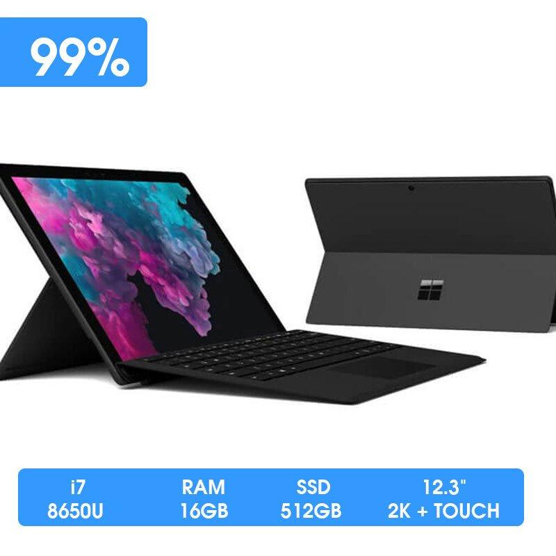 Microsoft Surface Pro 6 (Core i7-8650U   RAM 16GB   SSD 512GB   12inch New Seal 100%