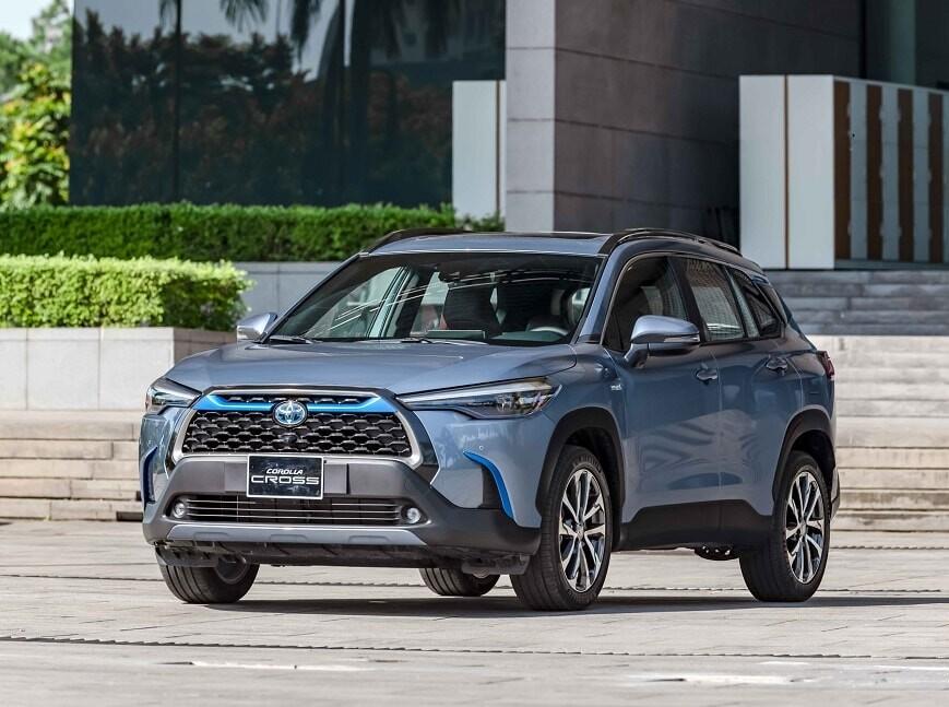 Giá xe ô tô Toyota Corolla Cross bản 1.8HV Hybrid