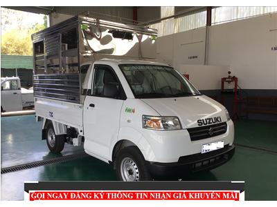 Suzuki Carry Pro 480Kg - 580Kg - Thùng thùng Bửng Nâng