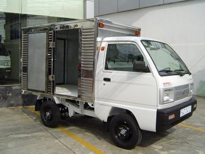 Suzuki Carry Truck 495kg - 500kg - Thùng kín 3 cửa (cửa hông)