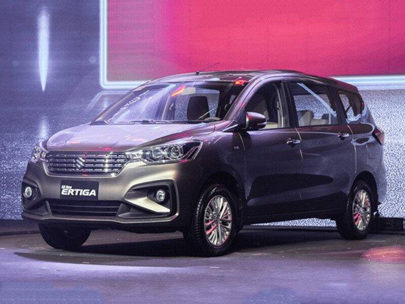 Suzuki Ertiga sô tự động GLX 2021