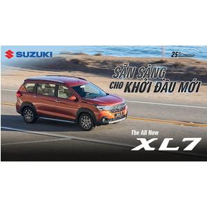 SUZUKI RA MẮT XL7 HOÀN TOÀN MỚI: TẠO ĐỘT PHÁ LỚN TRONG PHÂN KHÚC SUV 7 CHỖ