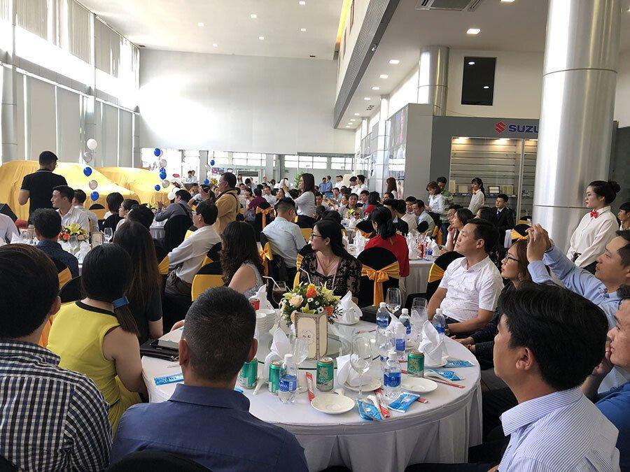 Tiệc tri ân khách hàng mua xe tại Suzuki Việt Long