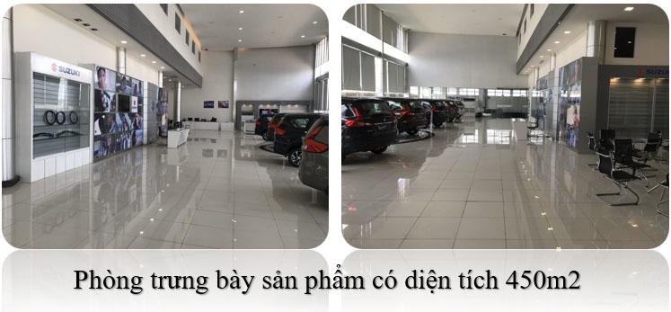 Phòng trưng bày của Showroom ô tô Suzuki Việt Long