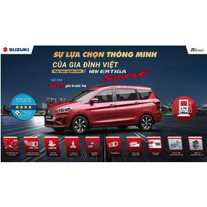 Suzuki Việt Long thông báo chương trình khuyến mãi tháng 8 - kỷ niệm 25 năm Suzuki tại Việt Nam