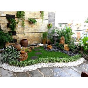 Tiểu cảnh sân vườn mẫu SV01