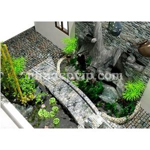 Tiểu cảnh sân vườn mẫu SV12