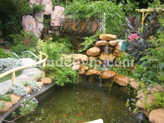 Tiểu cảnh sân vườn mẫu SV13