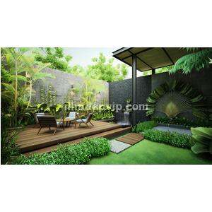 Tiểu cảnh sân vườn mẫu SV22