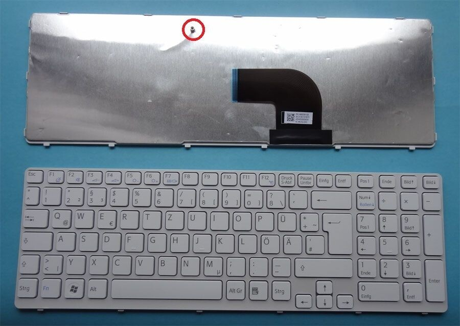 bàn phím laptop sony sve15 trắng