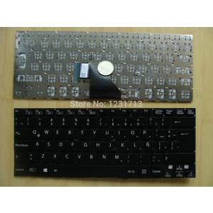 bàn phím laptop sony svf14a đen