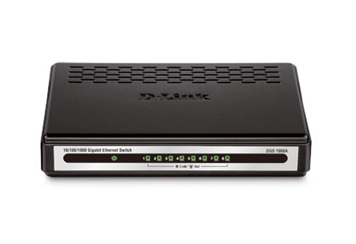 Switch Gigabye D-Link DGS-1008A