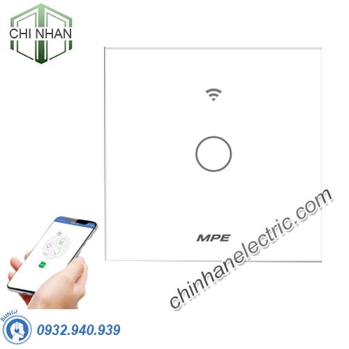 Công Tắc Đơn Cảm Ứng / WIFI (Mặt Vuông) - SWV1/SC - MPE