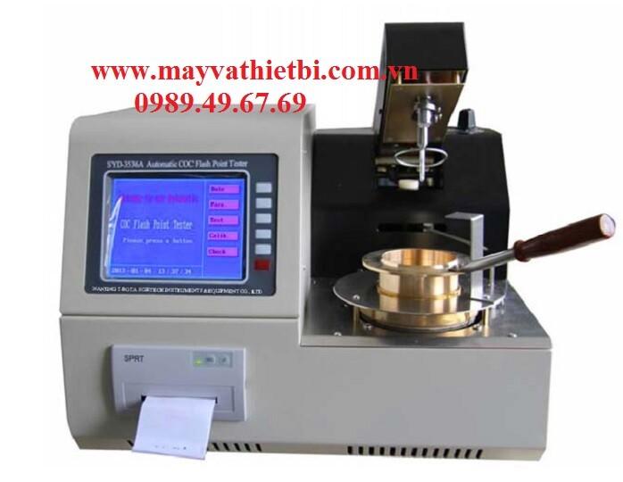 Máy đo điểm chớp cháy cốc hở COC SYD-3536A