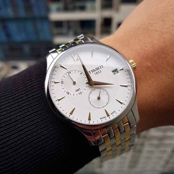 Đồng hồ nam TISSOT TRADITION GMT T063.639.22.037.00