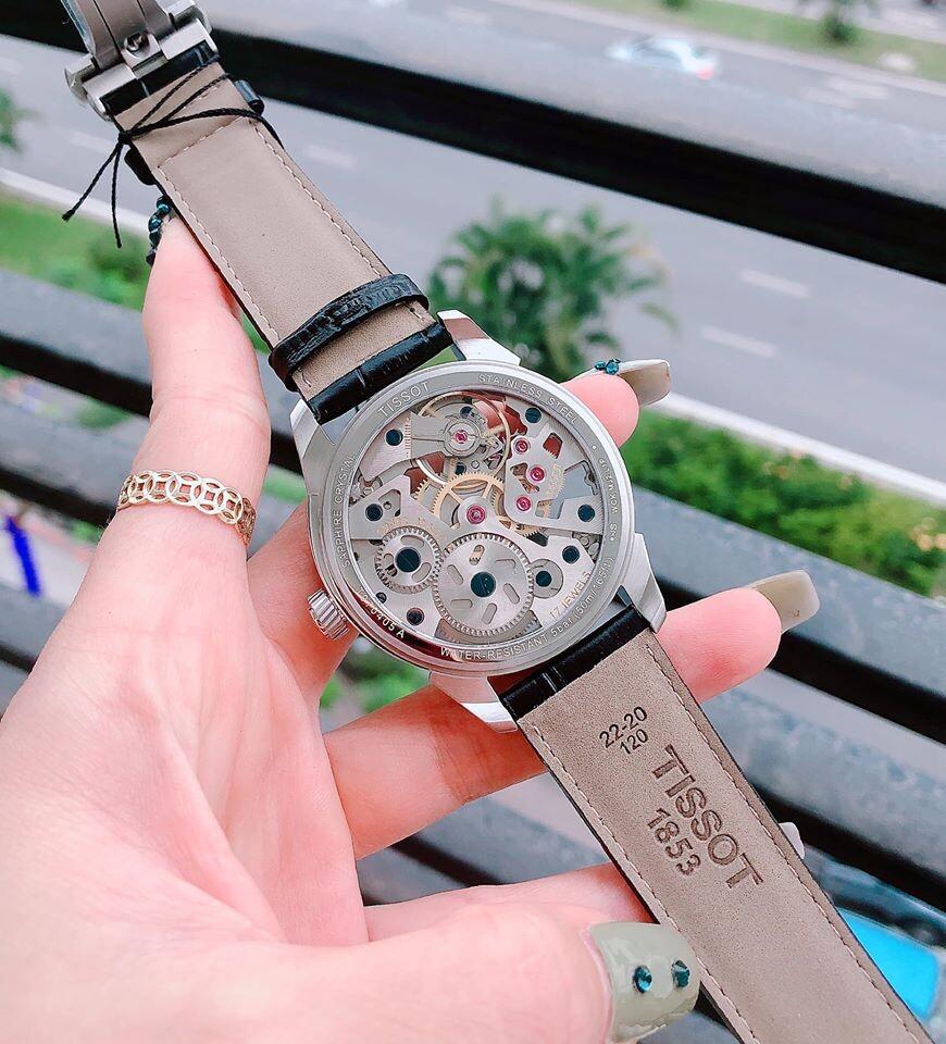 Đồng hồ nam TISSOT T-COMPLICATION SQUELETTE T070.405.16.411.00