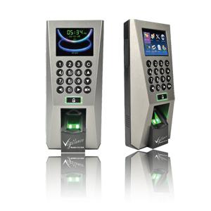 TA-818, máy chấm công kiểm soát cửa vân tay, thẻ cảm ứng