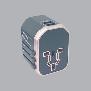 Ổ Cắm Du Lịch Đa Năng, 2 Cổng USB TA5