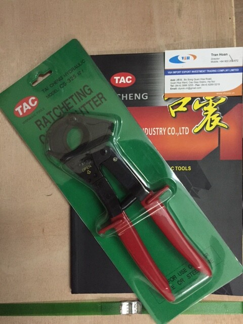 Kìm-Kéo cắt cáp nhông TAC CS-325