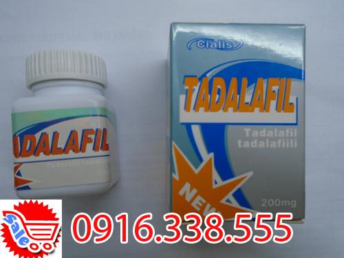 thuốc Cường Dương Tadalafil 200mg hộp 10 viên