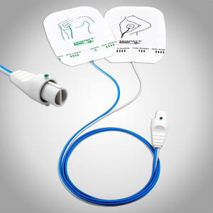 Tấm điện cực dương dùng cho máy sốc tim Philips Codemaster Skintact DF26N