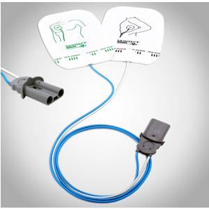 Tấm điện cực dương dùng cho máy sốc tim Philips Heartstart Skintact DF27N