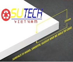 TẤM PVC FOAM 25 MM