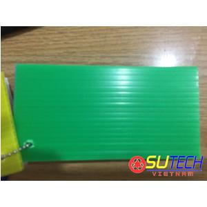 Tấm nhựa danpla 3mm màu xanh lá