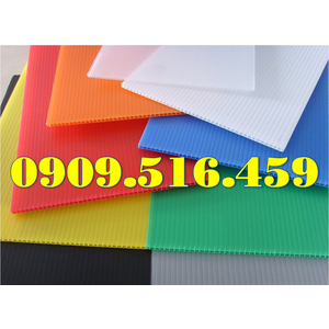 Tấm nhựa pp nhiều màu sắc