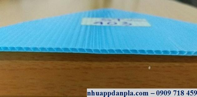 Tấm nhựa pp 2mm xanh hòa bình