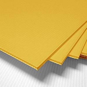 Tấm nhựa pp 4mm vàng