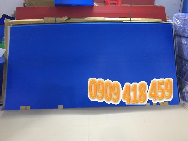 Tấm nhựa pp danpla màu xanh dương