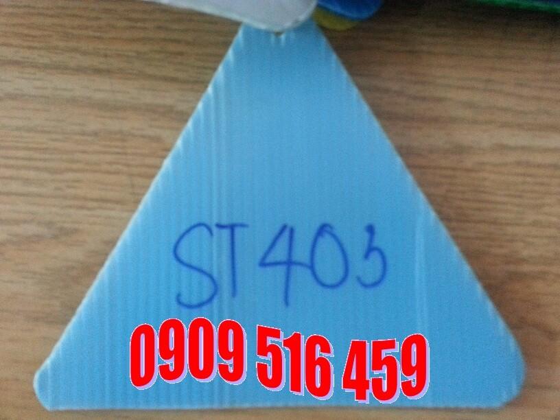 Tấm nhựa pp danpla màu xanh hòa bình
