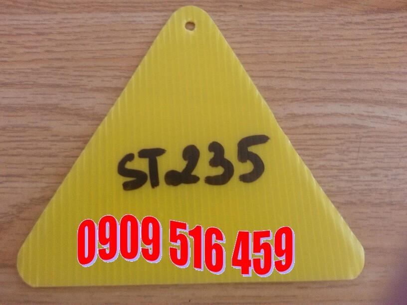 Tấm nhựa pp màu vàng- tấm carton nhựa màu vàng