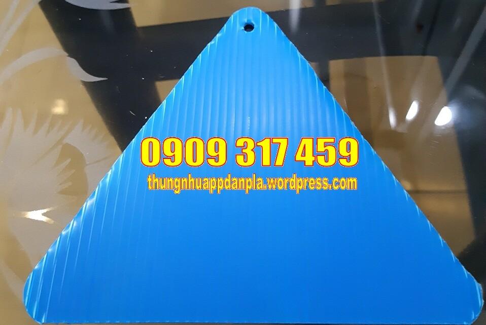 Tấm nhựa pp màu xanh dương 517