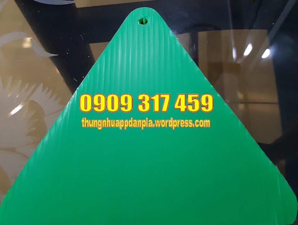 Tấm nhựa pp màu xanh lá