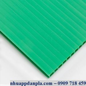 Tấm nhựa pp màu xanh lá cây