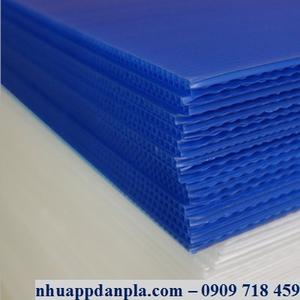 Tấm nhựa pp màu xanh tím