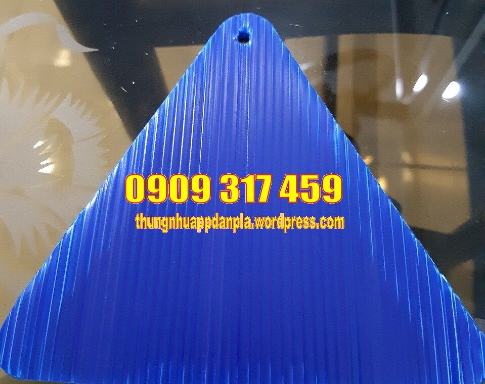 Tấm nhựa pp màu xanh tím 322