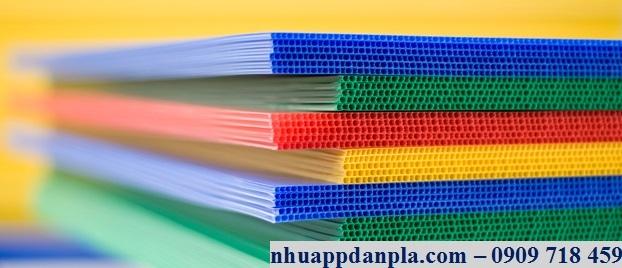 Tấm nhựa pp nhiều màu