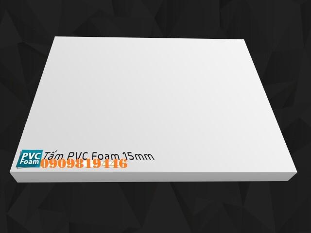 TẤM PVC FOAM 15MM
