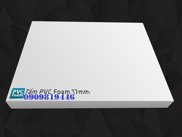 TẤM PVC FOAM 17 MM