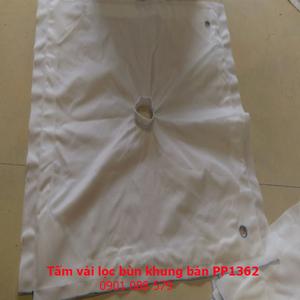 Tấm vải lọc bùn khung bản PP1362
