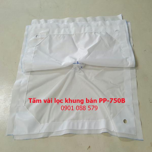 Tấm vải lọc khung bản PP - 750B