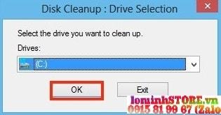 tăng tốc laptop cũ bằng cleanup