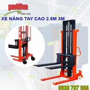 XE NÂNG TAY CAO 1000KG/ 2500MM