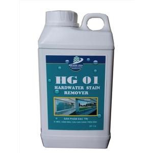 Tẩy cáu cặn canxi, nước cứng trên kính HG-01